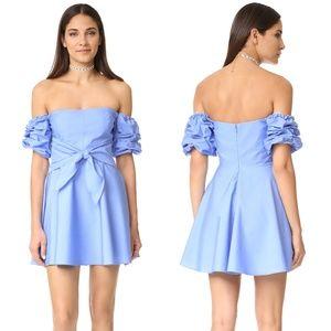 Amanda Uprichard Chambray Austin Dress